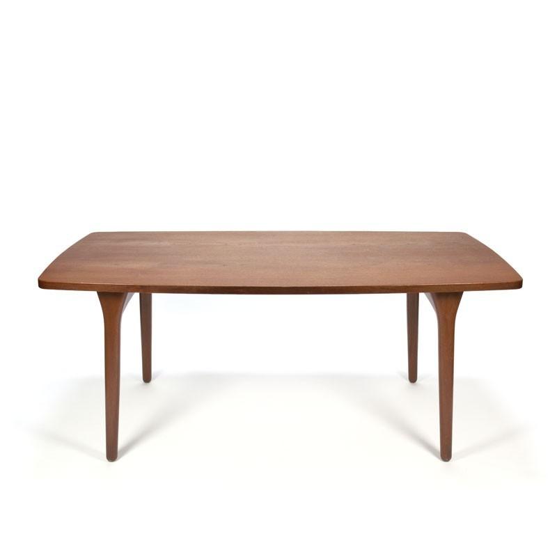 Vintage design teak dining table