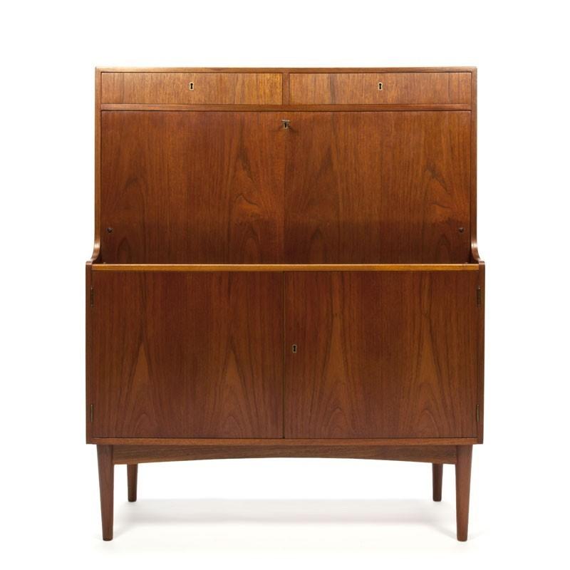 Vintage Danish teak design secretaire