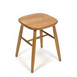 Vintage oak stool brand Centra