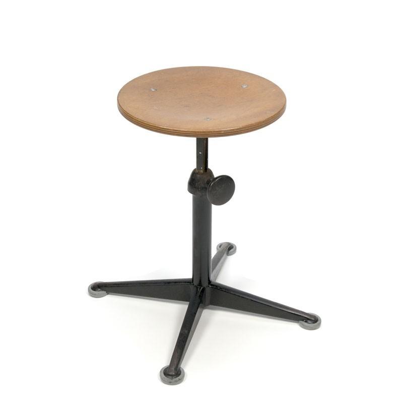 Friso Kramer stool low model black