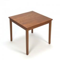 Vintage small coffee table in teak