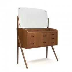 Vintage dressing table in teak from denmark
