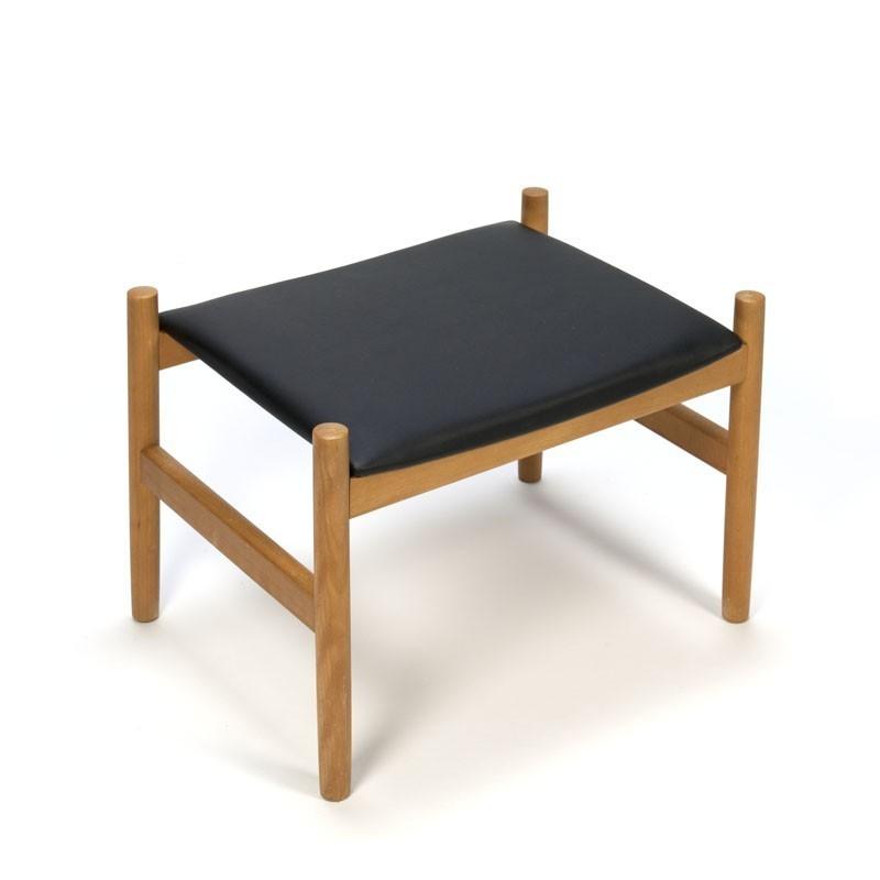 Vintage ottoman or stool Danish design