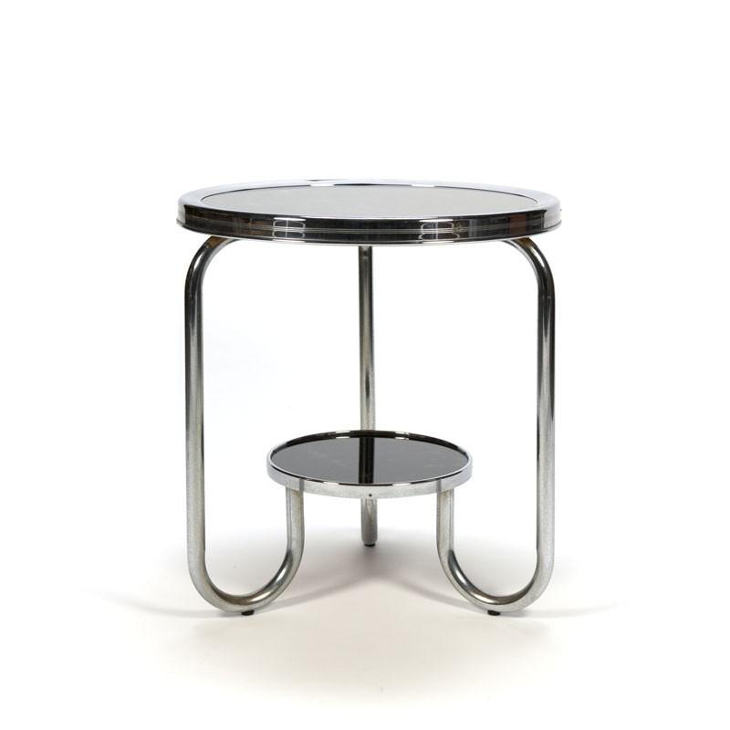 Tubular frame side table 1930's