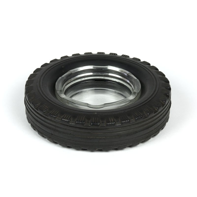 Vintage ashtray rubber tire