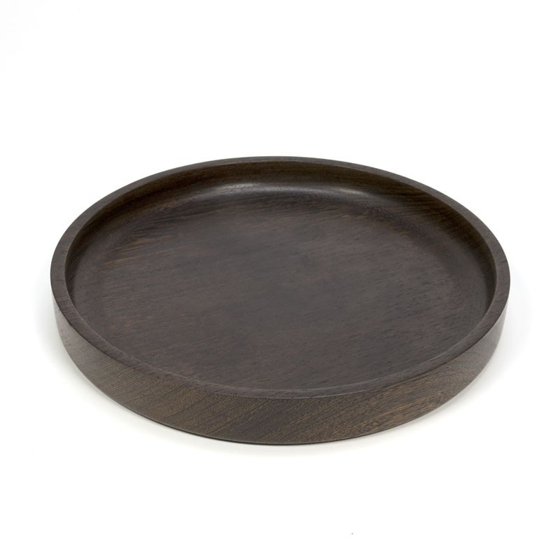 Wenge vintage wooden bowl