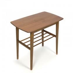 Vintage Danish side table in teak