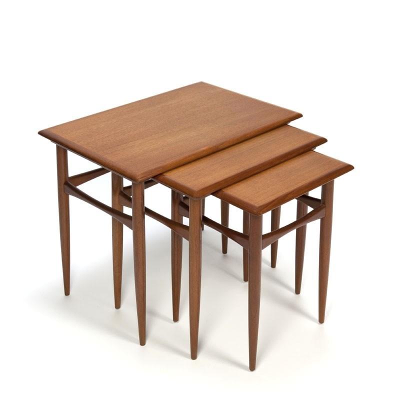 Danish teak vintage nesting tables
