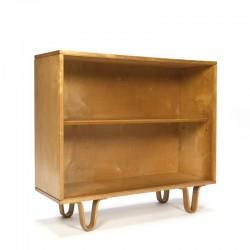 Vintage Cees Braakman voor Pastoe berkenserie boekenkast