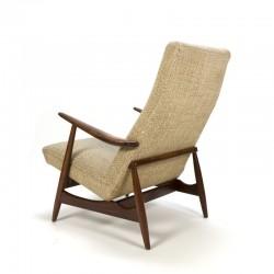 Vintage set van 2 fauteuil uit de jaren 50