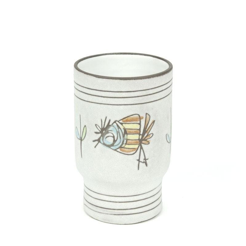 Vintage ceramic cup / vase