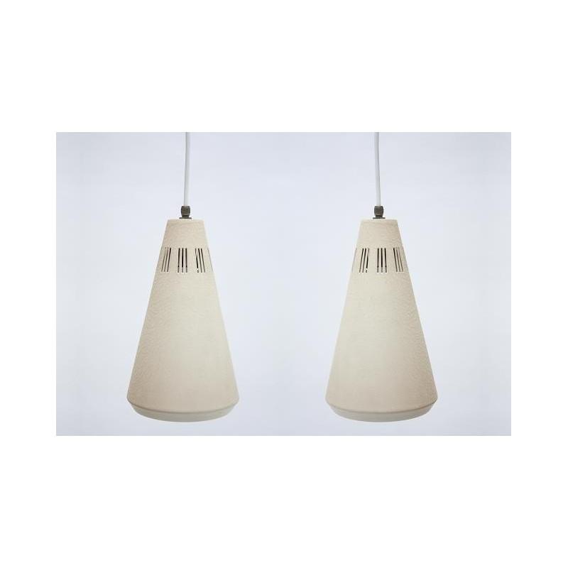 Set van twee Philips hanglampen vintage