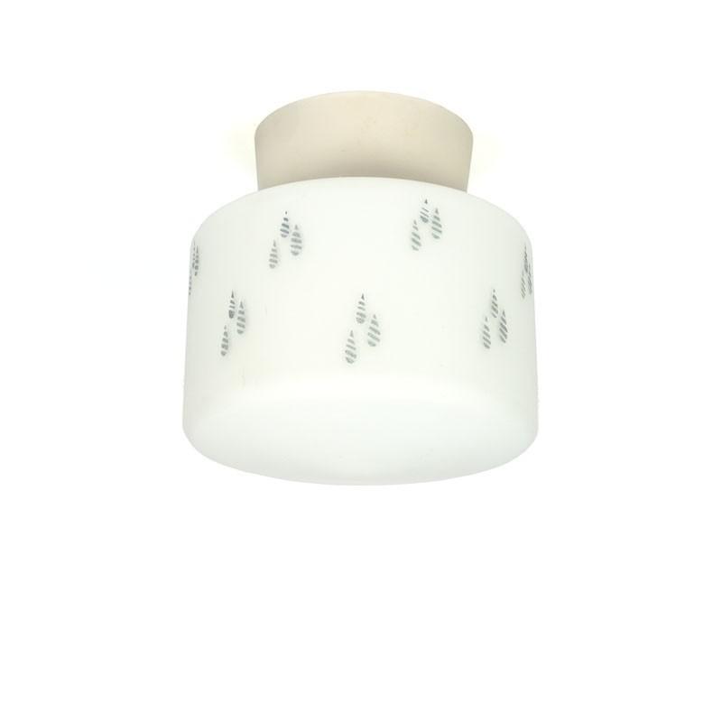 Vintage jaren 50 plafondlamp