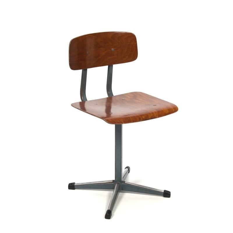 Industrial vintage kids chair