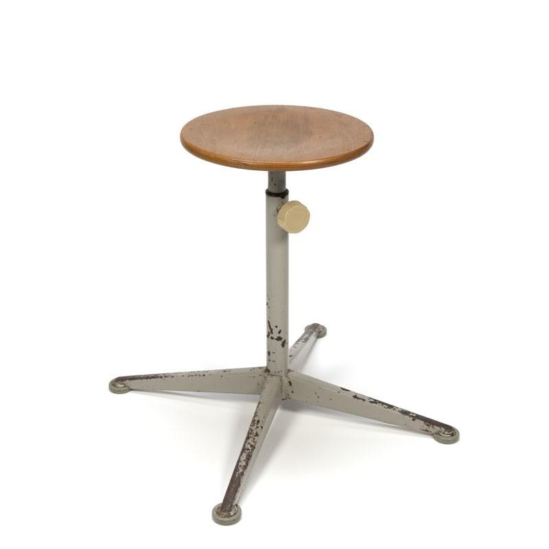 Vintage Friso Kramer stool high model