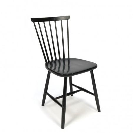 Vintage set of 4 Swedish bars chairs