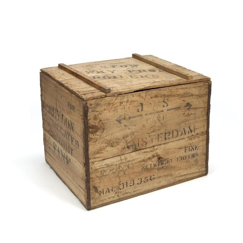 Vintage houten kist