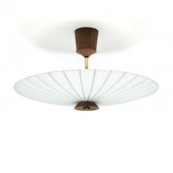 Vintage plafondlamp uit de jaren vijftig