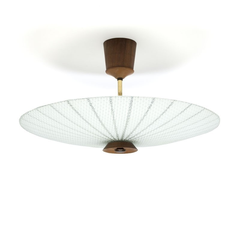 Vintage ceiling lamp from the fifties