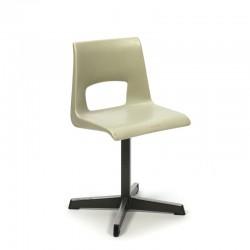 Vintage school chair for kids plastic