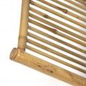 Vintage Bamboo folding magazine rack