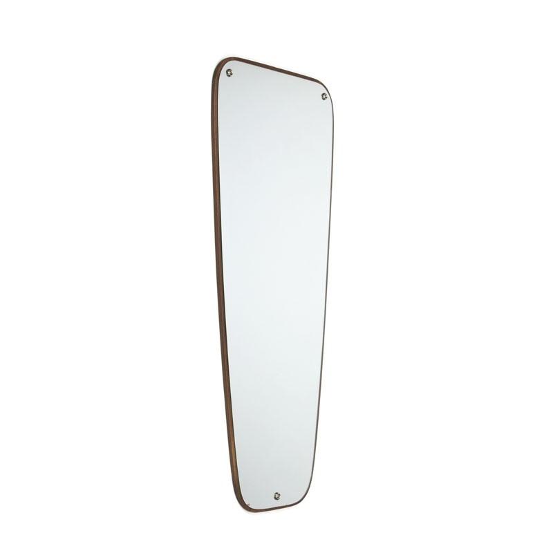 Vintage Deense spiegel jaren zestig