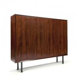 Danish vintage rosewood cabinet Brouer Møbelfabrik
