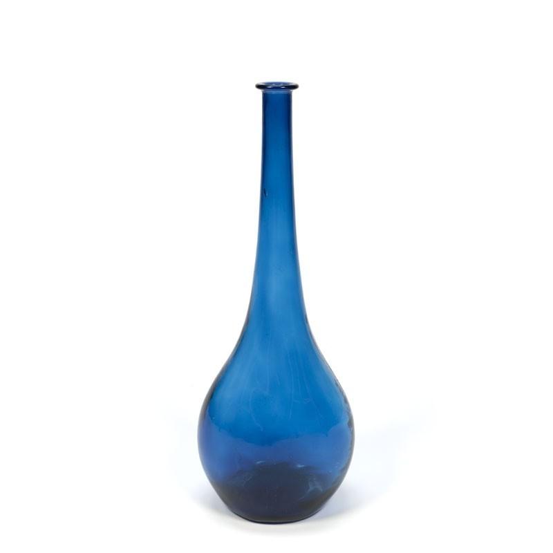 Decoratieve glazen vintage vaas