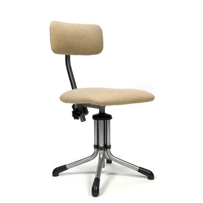 Vintage bureaustoel Gispen model 360