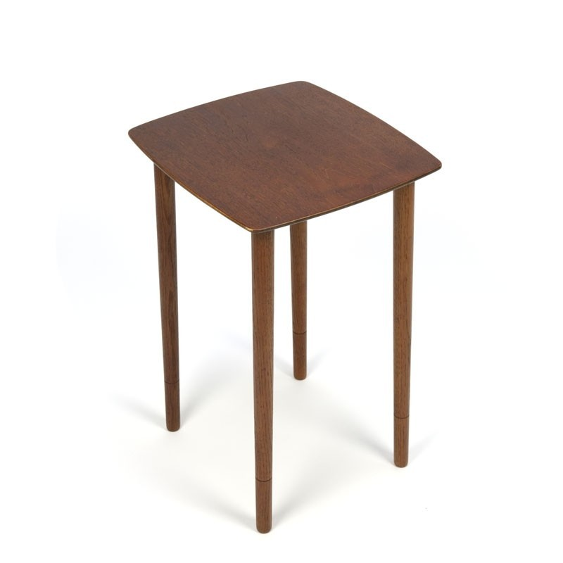 Vintage teak side/ plants table Danish design