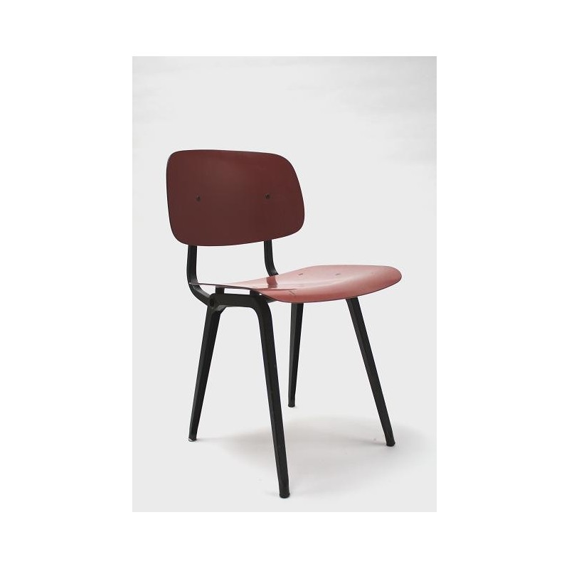 Friso Kramer Revolt chair red/black 3