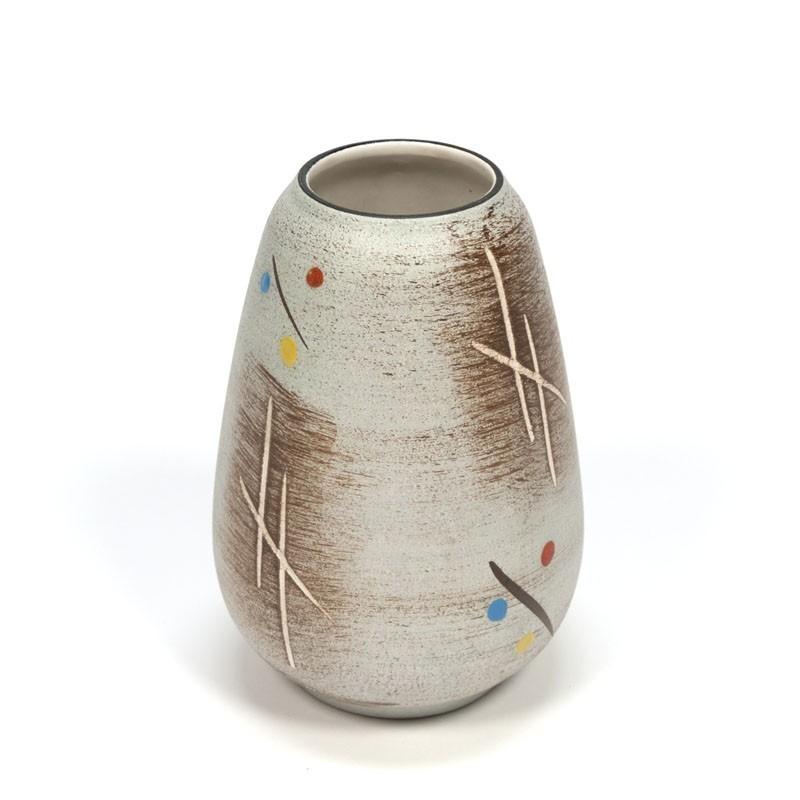 Kleine vintage vaas Bay Keramik