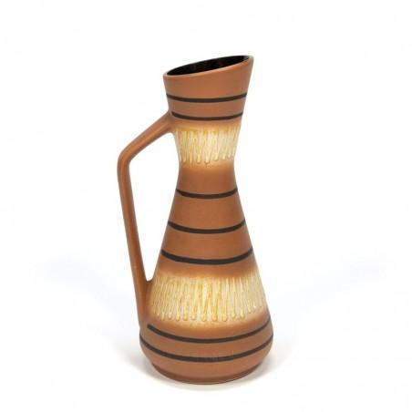 Vintage can model vase West-Germany