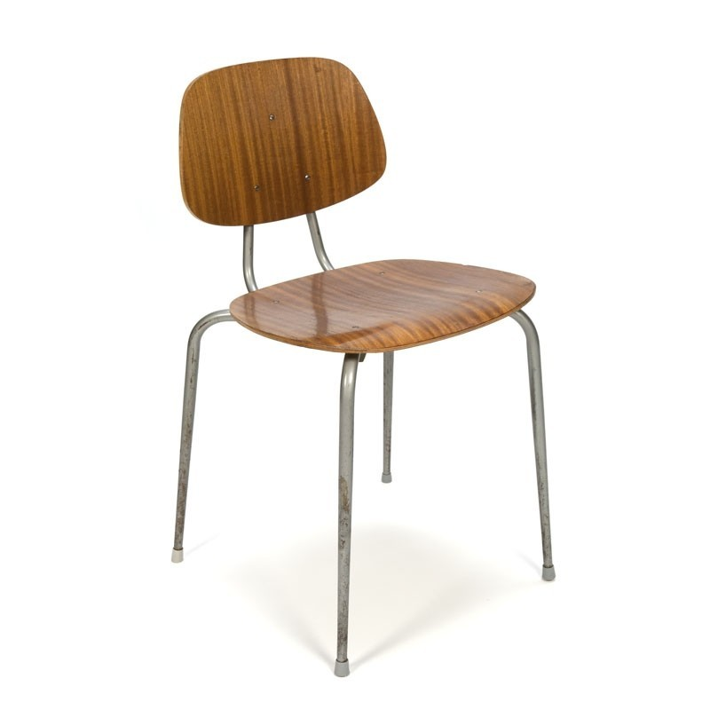 Vintage industriële stoel uit Denemarken