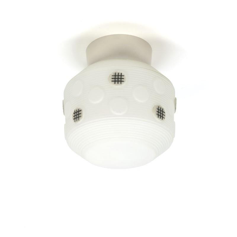 Vintage jaren vijftig/ zestig plafondlamp