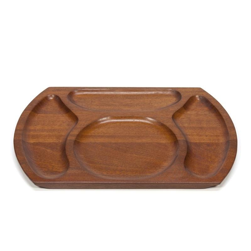 Danish Vintage teak serving tray