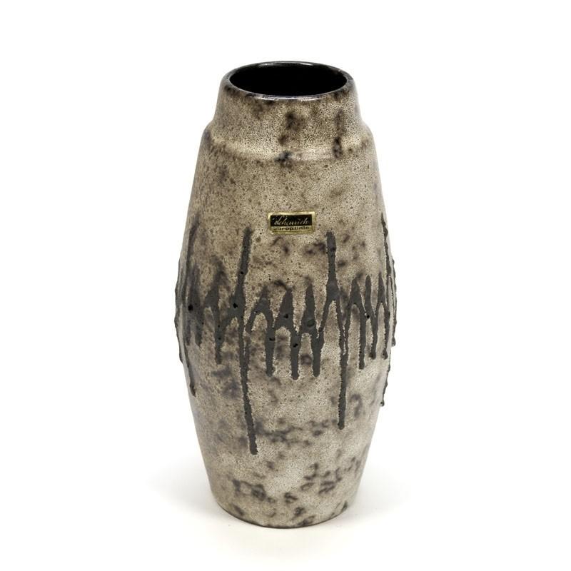Vintage ceramic vase Scheurich