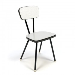 Vintage Formica kitchen chair for children