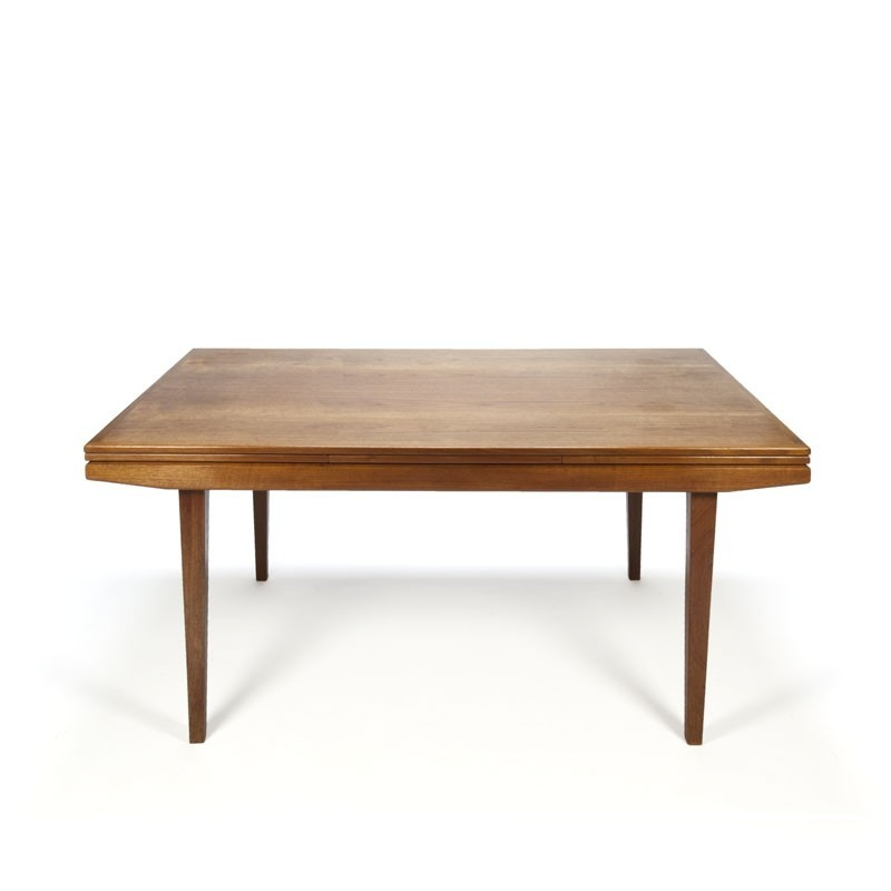 Danish Vintage teak dining table extendable