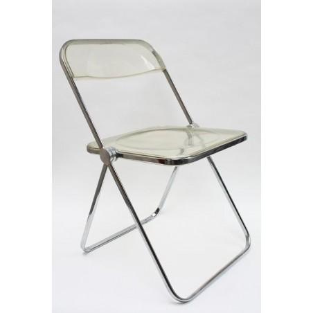 Vintage design Plia stoel ontwerp Giancarlo Piretti