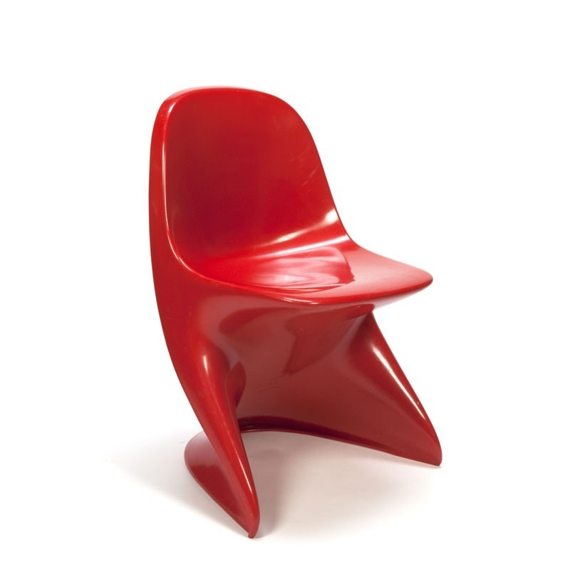 Vintage design Casalino red children's chair