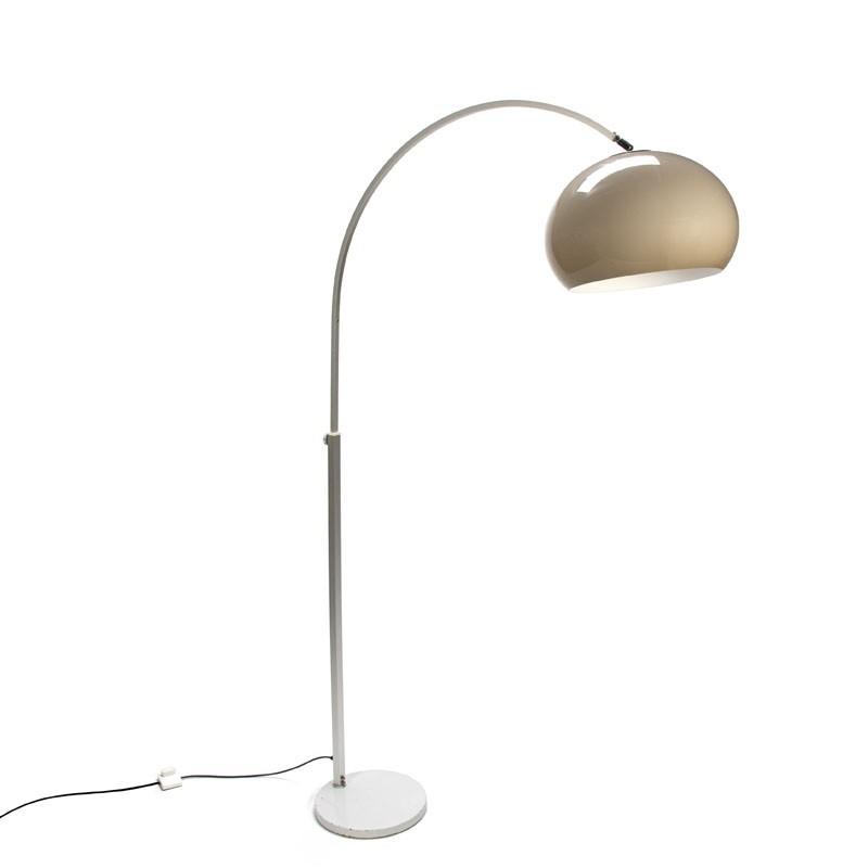 Vintage staande booglamp