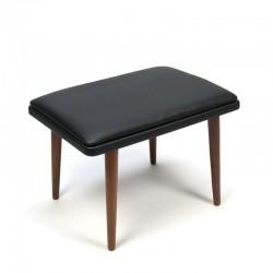 Vintage Scandinavian stool or ottoman