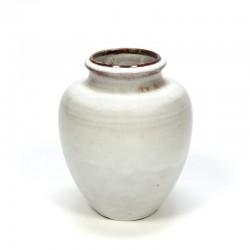 Vintage Mobach Utrecht vase white