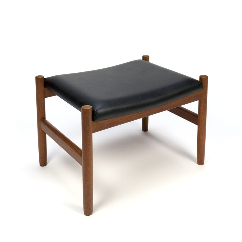 Vintage stool or ottoman Danish design