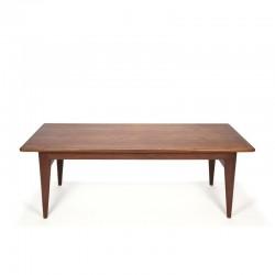 Teak vintage coffee table Danish design