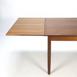 Vintage Scandinavian teak dining table