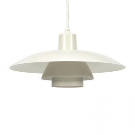White vintage PH 4/3 pendant lamp designer Poul Henningsen