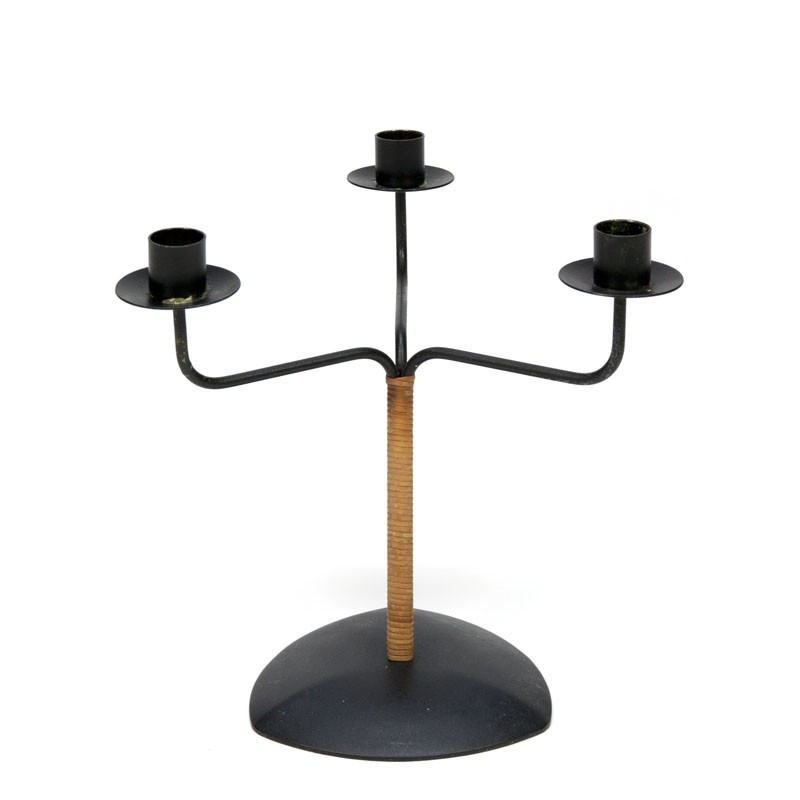 Vintage candlestick with 3 arms