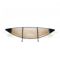 Vintage fruitplate with bamboo fifties